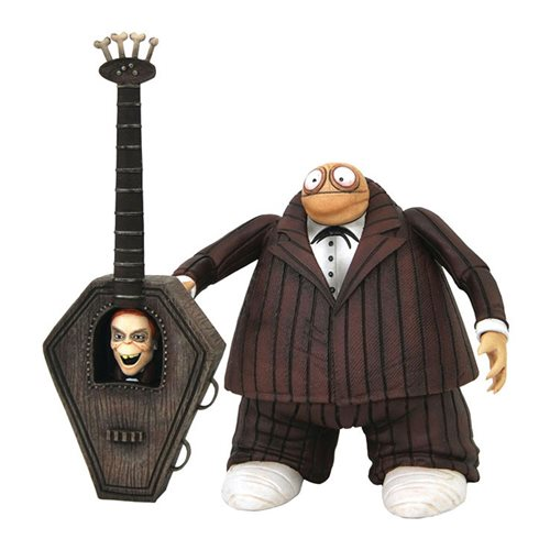 Nightmare Before Christmas Select Series 9 Zombie Bass Player Action Figure