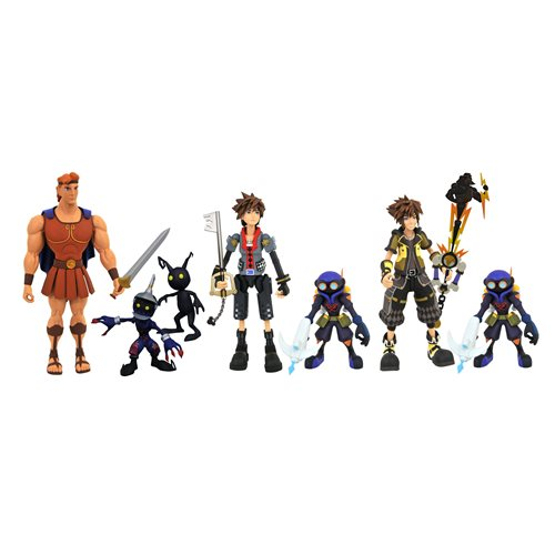 Kingdom Hearts 3 Select Series 2 Action Figure Set