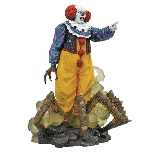 It 1990 Movie Gallery Pennywise Statue