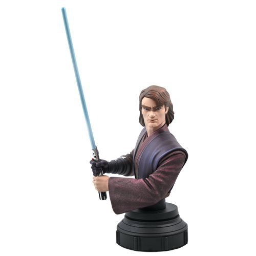 Star Wars Clone Wars Anakin Skywalker 1:7 Scale Bust