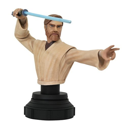 Star Wars Clone Wars Obi-Wan Kenobi 1:7 Scale Bust