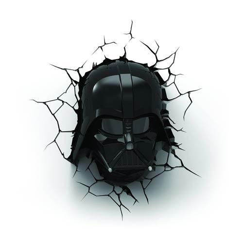 Star Wars Darth Vader Helmet 3D Nightlight