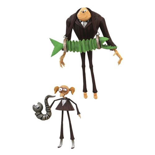 Nightmare Before Christmas Select Series 9 Jimmy and James Action Figure 2-Pack
