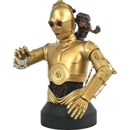 Star Wars: Rise of Skywalker C-3PO & Babu Frik 1:6 Bust
