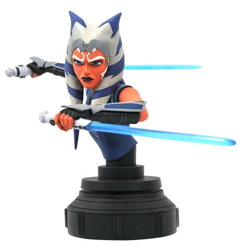 Star Wars The Clone Wars Ahsoka Tano 1:7 Scale Mini-Bust