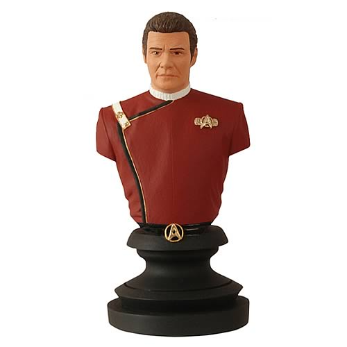Star Trek Icons Wrath of Khan Admiral Kirk Bust