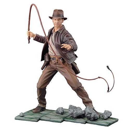 Indiana Jones Indy ArtFX Statue