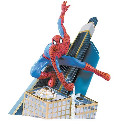 Spider-Man Swing into Action Statue