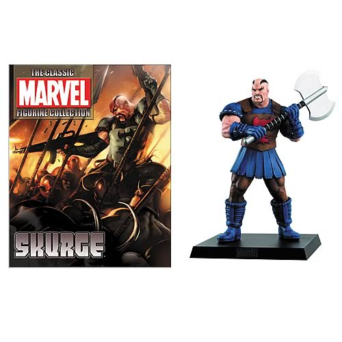 Classic Marvel Special Skurge Figure with Magazine
