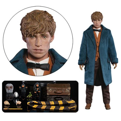 Fantastic Beasts Newt Scamander 1:6 Scale Action Figure