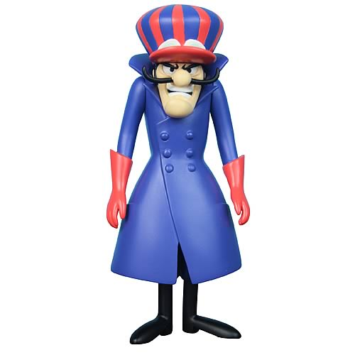 Hanna-Barbera Wacky Races Dick Dastardly Action Figure