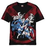 X-Men 6 Exes Black T-Shirt