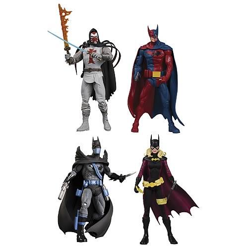 Batman Reborn Series 1 Action Figure Set