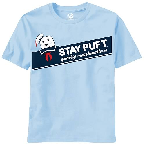 Ghostbusters Box of Puft Light Blue T-Shirt