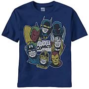 Avengers Gather Round Navy T-Shirt