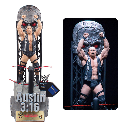 WWE Stone Cold Steve Austin Resin Statue