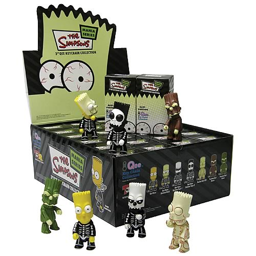 Simpsons Bart Horror Artist Series Qee Case
