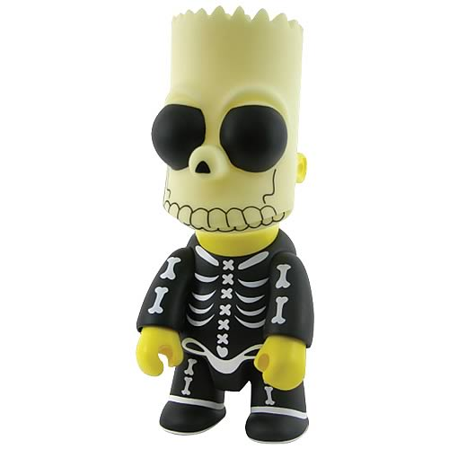Simpsons Halloween Bart Bone Mask 10-Inch Qee