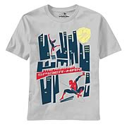 Amazing Spider-Man Saul Good Silver T-Shirt