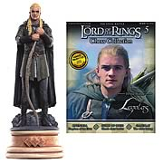 Lord of the Rings Legolas Bishop Chess Piece with Magazine