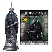 Lord of the Rings Witch King Queen Chess Piece with Magazine