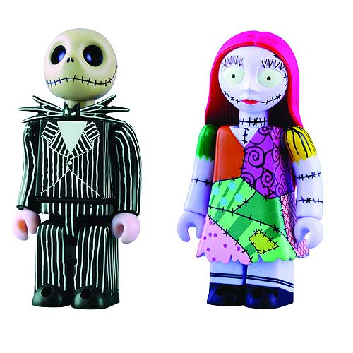 Nightmare Before Christmas Jack and Sally Kubricks 2-Pack