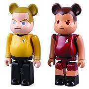 Star Trek Captain Kirk and Uhura Bearbrick 2-Pack Figures