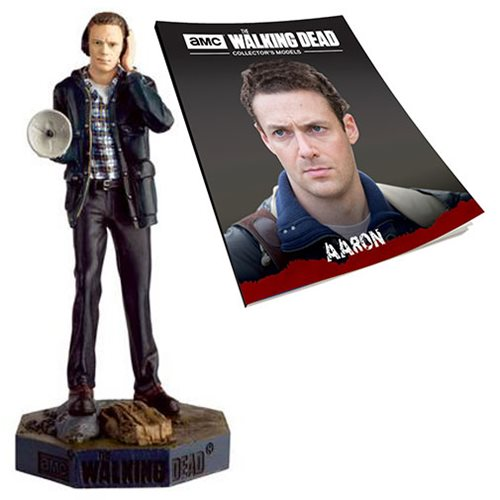 The Walking Dead Aaron Figure with Collector Magazine #29