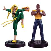 Marvel Fact Files Spec. #30 Heroes For Hire Statue Set & Mag