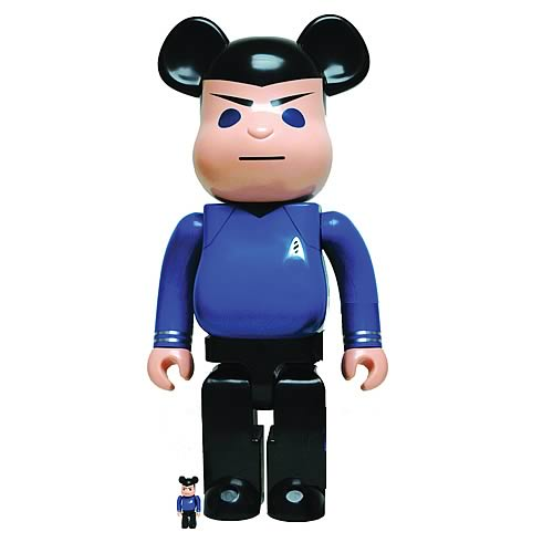 Star Trek Spock 1000% Bearbrick Figure