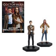 Doctor Who Coll. Companion Set #1 11th Doctor & Amy Statues
