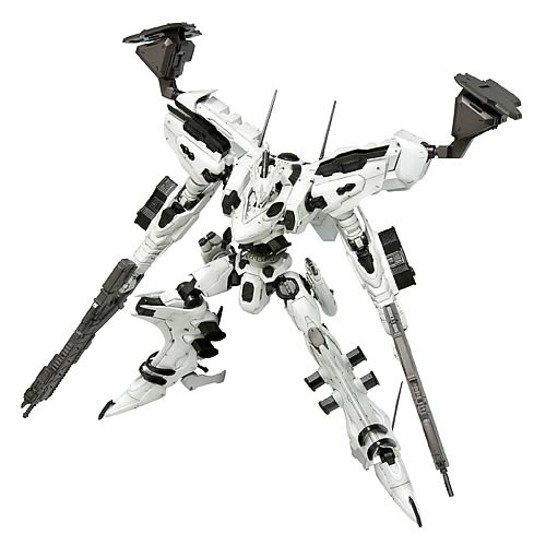 Armored Core White Glint Fine Scale Model Kit