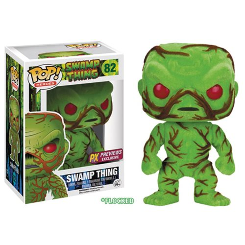 Swamp Thing Scented Flocked Pop! Figure - SDCC 2016 Exc.
