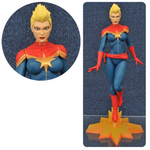 Marvel Gallery Captain Marvel Mohawk Statue - SDCC 2016 Exc.