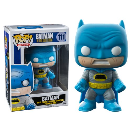 Dark Knight Returns Batman Blue Version Pop! Figure - PX