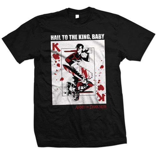 Army Of Darkness King Of Hearts T-Shirt - Previews Exclusive