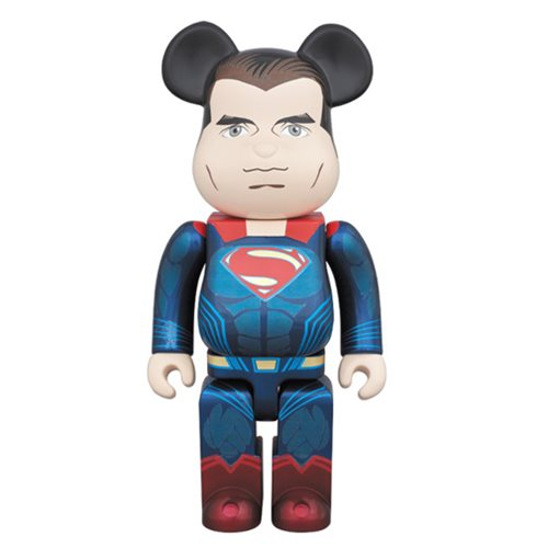 Batman v Superman Superman 400% Bearbrick Figure