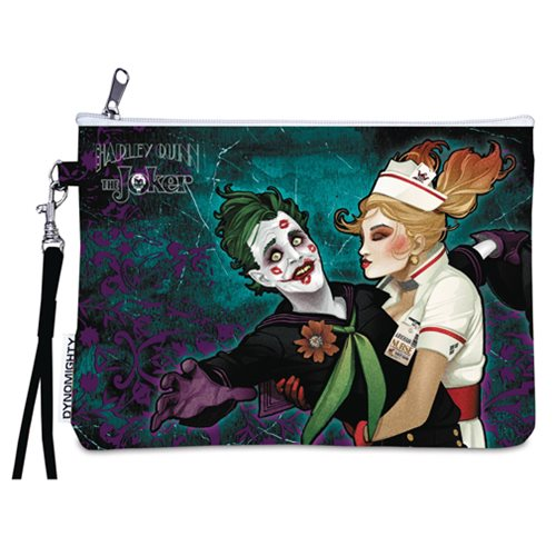 DC Bombshells Joker and Harley Quinn Wristlet Purse - PX