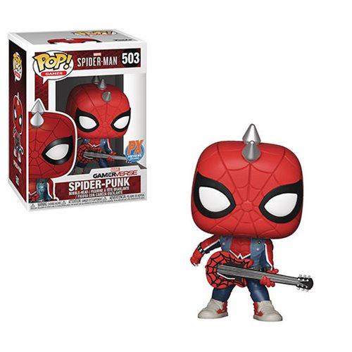 Spider-Man Video Game Spider-Punk Pop! Vinyl Figure – PX