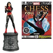 Marvel Spider-Woman White Bishop Chess Piece & Magazine #81