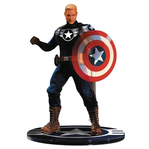 Captain America Takes Command in 1:12 Scale