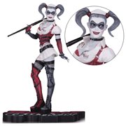 Batman: Arkham Asylum Harley Quinn Red Black & White Statue