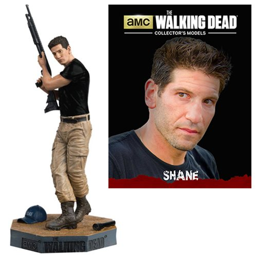 The Walking Dead Shane Figure with Collector Magazine #17