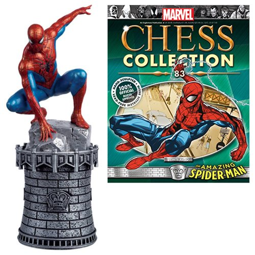 Marvel_Amazing_SpiderMan_White_King_Chess_Piece_with_Collector_Magazine_83