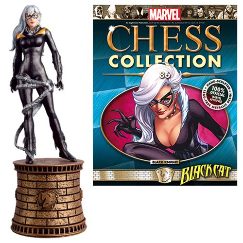 Marvel_Amazing_SpiderMan_Black_Cat_Black_Knight_Chess_Piece_with_Collector_Magazine_86