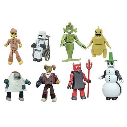 Nightmare Before Christmas Minimates Series 4 Random 6-Pack