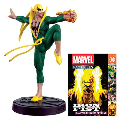 Marvel Fact Files Special #22 Iron Fist Statue with Magazine