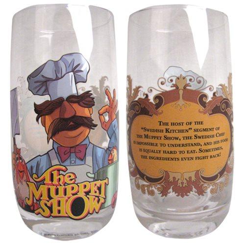 Muppets Swedish Chef Tumbler Pint Glass