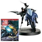 DC Superhero Batman and Batcycle with Magazine #1