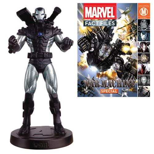 Marvel Fact Files #24 War Machine Statue with Magazine